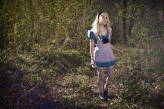 Alice au pays des merveilles photographie stock