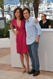Alice Braga & Gael Garcia Bernal Stock Photo
