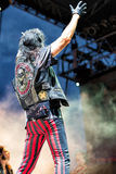 Alice Cooper in Concert Royalty Free Stock Photos