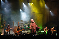 Alice Cooper Performing Live at Arenele Romane Stock Photography