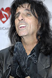 Alice Cooper on the red carpet. stock image