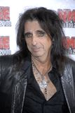 Alice Cooper on the red carpet Stock Photography