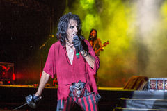 Alice Cooper's horror show. At Metalfest 2014 Stock Image