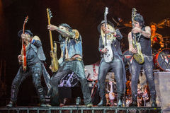 Alice Cooper's horror show. At Metalfest 2014 Stock Images