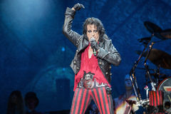 Alice Cooper's horror show. At Metalfest 2014 Royalty Free Stock Photography