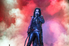 Alice Cooper's horror show Royalty Free Stock Photo