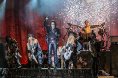 Alice Cooper's horror show. At Metalfest 2014 Stock Photography
