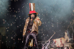 Alice Cooper's horror show. At Metalfest 2014 Stock Photos