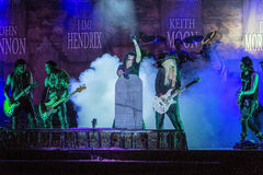 Alice Cooper's horror show Stock Photography