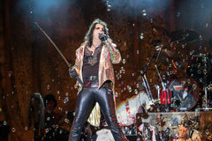 Alice Cooper's horror show Royalty Free Stock Images