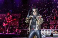 Alice Cooper's horror show. At Metalfest 2014 Stock Photo