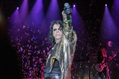 Alice Cooper's horror show. At Metalfest 2014 Royalty Free Stock Image