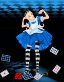 Alice cresce-acima Imagens de Stock Royalty Free