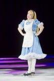 Alice im Märchenland auf Rochen Stockfoto