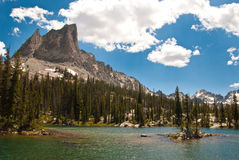 Alice Lake, Idaho Stock Foto
