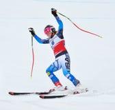 Alice McKennis, FIS Alpine Ski World Cup 2011/2. Alice McKennis on FIS Alpine Ski World Cup 2011/2012 in February 18, 2012 Russia, Sochi, Rosa Khutor stock image