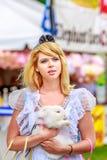 Alice nel paese delle meraviglie Fotografia Stock