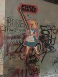 Alice no país das maravilhas recarregado Fotografia de Stock