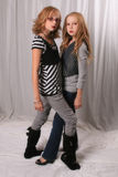 Alice and Rosalie look alikes 2 stock photography