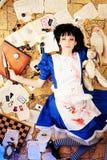 Alice sanglante photos libres de droits