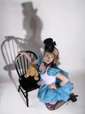 Alice spojrzenie a lubi Fotografia Stock