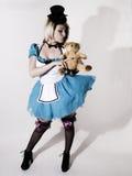 Alice spojrzenie a lubi Obrazy Royalty Free
