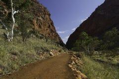Alice Springs в северных территориях, Австралии Стоковые Фотографии RF