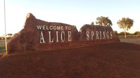 Alice Springs Images libres de droits