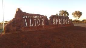 Alice Springs Imágenes de archivo libres de regalías