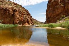 Alice Springs dans le territoire du nord, Australie image libre de droits