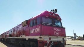 Alice Springs Ghan Train