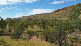 Alice Springs mountain2 Royaltyfria Foton