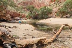 Alice Springs no Território do Norte, Austrália Imagem de Stock