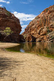 Alice Springs in Northern Territory, Australia Stock Image