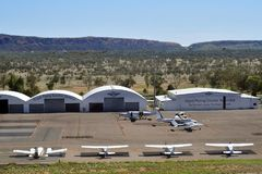 Australia, NT, Alice Springs, Flying Doctor terminal stock images