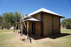 Alice Springs Telegraph Station Historical Reserve Royalty Free Stock Image