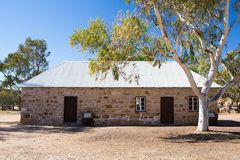 Alice Springs Telegraph Station Historical Reserve Stock Image