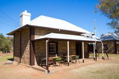 Alice Springs Telegraph Station Historical Reserve Royalty Free Stock Photo