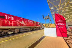 Free Alice Springs The Ghan Stock Photography - 161538172