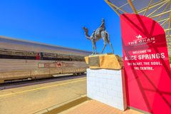 Free Alice Springs Train Station Royalty Free Stock Photography - 162555967