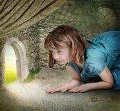 Alice in Sprookjesland royalty-vrije stock foto