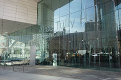 Alice Tully Hall Stock Image