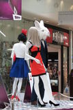 Alice in Wonderland mannequins Stock Images