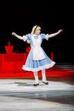 Alice in Wonderland Surprised Stock Photos