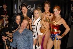 Alicia Arden, Doug Jones, Paula LaBaredas, Prijs Phoebe Stock Afbeeldingen