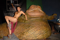 Alicia Arden, Jabba Immagini Stock Libere da Diritti