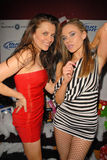 Alicia Arden,Paula LaBaredas. Alicia Arden and Paula LaBaredas at Bridgetta Tomarchio B-Day Bash and Babes in Toyland Toy Drive, Lucky Strike, Hollywood, CA. 12 royalty free stock images