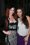 Alicia Arden, Phoebe Price. Phoebe Price, Alicia Arden  at the 2nd Annual Beverly Hills Film, TV & New Media Festival, Roosevelt Hotel, Hollywood, CA 10-20-11 Royalty Free Stock Photos