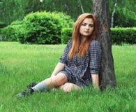 Alicia en el país de las maravillas Fotografía de archivo libre de regalías