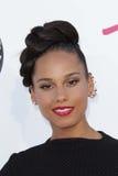Alicia Keys bij de Aankomst van de Toekenning van de Muziek van het Aanplakbord van 2012, MGM Grand, Las Vegas, NV 05-20-12 Stock Foto